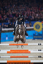 Cordon Pilar (ESP) - Coriana van Klapscheut<br /> Prijs Stad Mechelen<br /> Flanders Christmas Jumping - Mechelen 2012<br /> © Dirk Caremans