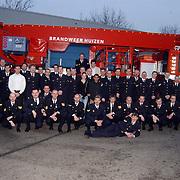 Jubilarissen en bevorderingen bij de Brandweer Huizen