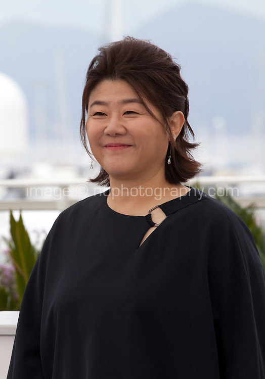 Actress Lee Jung-Eun at Parasite film photo call at the 72nd Cannes Film Festival, Wednesday 22nd May 2019, Cannes, France. Photo credit: Doreen Kennedy