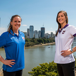 BRISBANE, AUSTRALIA - SEPTEMBER 1: During the NPL Queensland Grand Final Captains photo opportunity on September 1, 2017 in Brisbane, Australia. (Photo by Football Queensland / Patrick Kearney)