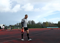 November 20, 2018 - Rome, Italy - Rugby All Blacks training - Vista Norther Tour.Aaron Smith at University Sport Center in Rome, Italy on November 20, 2018. (Credit Image: © Matteo Ciambelli/NurPhoto via ZUMA Press)