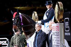 Schneider Dorothee, (GER), Showtime<br /> MEVISTO Amadeus Horse Indoor Salzburg<br /> © Hippo Foto - Stefan Lafrentz<br /> 11-12-2016