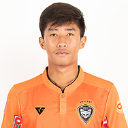THAILAND - JUNE 25: Romran Rodwinitch #42 of Nakhonratchasrima Mazda FC on June 25, 2019.<br /> .<br /> .<br /> .<br /> (Photo by: Naratip Golf Srisupab/SEALs Sports Images/MB Media Solutions)