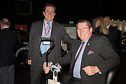 ALEC MUMFORD; NIGEL MUMFORD, Preview for The London Motor Show, Battersea Evolution. London. 5 May 2016