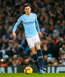 Manchester City's John Stones during the Premier League match at the Etihad Stadium, Manchester.