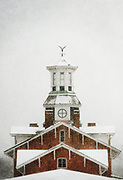 Station in the Snow, Wilkes-Barre PA, Darren Elias Photography