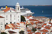 A cruise at Lisbon's Santa Apolónia Cruise Terminal on Tagus river.PHOTO PAULO CUNHA/4SEE
