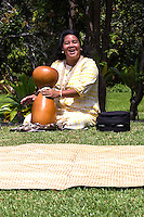 Large gourd drums called ipu hula or ipu heke are unique to Hawaii. The gourds are specially grown to obtain the desired shape and sound, creating a hollow instrument.  The Ipu hula is used to provide the background rhythm for Hawaiian chants and hula dances.