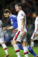 Joe Walsh of MK Dons looks on. The Emirates FA cup, 4th round match, MK Dons v Chelsea at the Stadium MK in Milton Keynes on Sunday 31st January 2016.<br /> pic by John Patrick Fletcher, Andrew Orchard sports photography.