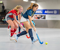 HAMBURG  (Ger) - Match 19,  for bronze , Der Club an der Alster (Ger) - Club Campo de Madrid (Esp)  Photo:  Gryphon    Eurohockey Indoor  Club Cup 2019 Women . WORLDSPORTPICS COPYRIGHT  KOEN SUYK