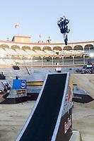 Spanish Fmx rider Dani Torres during qualifying Red Bull X-Fighters 2016 at Madrid. 22,06,2016. (ALTERPHOTOS/Rodrigo Jimenez)