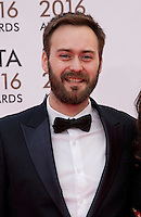 Writer and Director Benjamin Cleary at the IFTA Film & Drama Awards (The Irish Film & Television Academy) at the Mansion House in Dublin, Ireland, Saturday 9th April 2016. Photographer: Doreen Kennedy