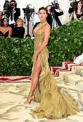 Irina Shayk attending the Metropolitan Museum of Art Costume Institute Benefit Gala 2018 in New York, USA. PRESS ASSOCIATION Photo. Picture date: Picture date: Monday May 7, 2018. See PA story SHOWBIZ MET Gala. Photo credit should read: Ian West/PA Wire