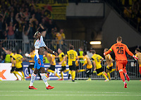 BERN, SWITZERLAND - SEPTEMBER 14: Paul Pogba of Manchester United shows ejection as BSC Young Boys celebrate their late winner during the UEFA Champions League group F match between BSC Young Boys and Manchester United at Stadion Wankdorf on September 14, 2021 in Bern, Switzerland. (Photo by FreshFocus/MB Media)