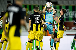 September 2, 2017 - Brugge, BELGIUM - Lierse's Nathan Goris pictured in action during a soccer game between Cercle Brugge KSV and Lierse SK in Brugge, Saturday 02 September 2017, on day four of the division 1B Proximus League competition of the Belgian championship. BELGA PHOTO JASPER JACOBS (Credit Image: © Jasper Jacobs/Belga via ZUMA Press)
