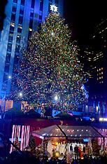 NYC: Christmas Tree Lighting At Rockefeller Center, 30 Nov. 2016