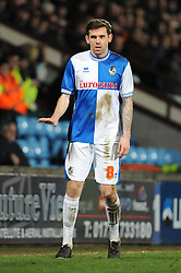 Bristol Rovers' Steven Gillespie - Photo mandatory by-line: Dougie Allward/JMP - Tel: Mobile: 07966 386802 25/02/2014 - SPORT - FOOTBALL - Scunthorpe - Glanford Park - Scunthorpe United v Bristol Rovers - Sky Bet League Two