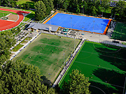Nederland, Zuid-Holland, Zoetermeer, 14-09-2019; Van Tuylpark, Sportvelden, kustgras velden voor hockey.<br /> <br /> luchtfoto (toeslag op standard tarieven);<br /> aerial photo (additional fee required);<br /> copyright foto/photo Siebe Swart