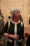 Sara Wheeler, Oldie of the Year Awards. Simpsons-in-the-Strand. London. 13 March 2007.  -DO NOT ARCHIVE-© Copyright Photograph by Dafydd Jones. 248 Clapham Rd. London SW9 0PZ. Tel 0207 820 0771. www.dafjones.com.