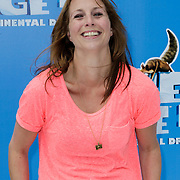 NLD/Haarlem/20120627 - Filmpremiere Ice Age 4, Alexandra Alphenaar en ????.
