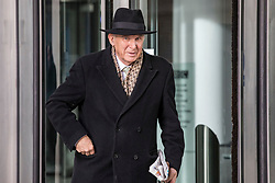 © Licensed to London News Pictures. 13/01/2019. London, UK. Liberal Democrat Leader Vince Cable leaves BBC Broadcasting House after appearing on The Andrew Marr Show. Photo credit: Rob Pinney/LNP