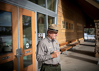 Yellowstone Supt. Cam Sholly reflects on the 2020 summer season late last month at the Old Faithful Visitor Center. Sholly said operating one of America's most popular national parks during a pandemic proved challenging with higher-than-expected visitation and seasonal staff down by more than 50 percent.