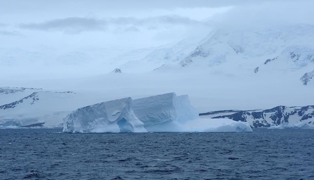 A small iceberg off the coast of   Coronation Island. Coronation Island, South Orkney Islands, Antarctica.