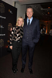 Joanne Milner and Richard Thompson, Chairman of talent management firm M&C Saatchi Merlin at the Debrett's 500 Party recognising Britain's 500 most influential people, held at BAFTA, 195 Piccadilly, London England. 23 January 2017.