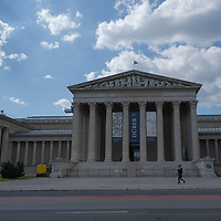 Visitors return as Museum of Fine Arts reopens after the COVID-19 restrictions in Budapest, Hungary on June 24, 2020. ATTILA VOLGYI