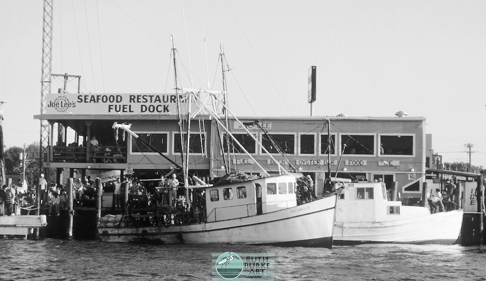 """1979 Joe Lee's Seafood Restaurant on page 52 of the """"Around Clear Lake Book"""""""