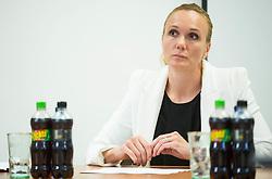 Petra Majdic during meeting of Executive Committee of Ski Association of Slovenia (SZS) on September 22, 2015 in SZS, Ljubljana, Slovenia. Photo by Vid Ponikvar / Sportida