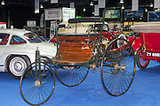RIAC Classic Car Show 2013, RDS, 1886 Benz Patent Motor Car. The Benz Patent Motor Car, the worlds's first automobile, was the invention of Carl Benz (Germany). Carl got the patent in 1886. Irish, Photo, Archive.