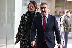 London, UK. 6 November, 2019. Tom Watson MP, Deputy Leader, arrives at Labour Party HQ for an NEC meeting to discuss important selection issues, including whether to lift Chris Williamson's suspension and whether Keith Vaz and Stephen Hepburn should be reinstated for the general election on December 12th. Credit: Mark Kerrison/Alamy Live News