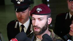 STEFANO BIASONE RESPONSABILE CONTINGENTE CARABINIERI TUSCANIA A MOLINELLA<br /> RICERCHE IGOR VACLAVIC DOPO OMICIDIO VERRI