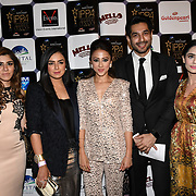 Momal Sheikh , Ahsan Khan is a Pakistani actress and guests arrives at the Annual International Pakistan Prestige Awards (IPPA) at Indigo at The O2 on 9th September 2018, London, UK.