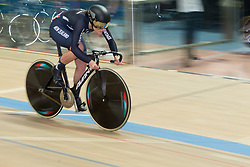 February 28, 2019 - Pruszkow, Poland - Natasha Hansen (NZL) on day two of the UCI Track Cycling World Championships held in the BGZ BNP Paribas Velodrome Arena on February 28, 2019 in Pruszkow, Poland. (Credit Image: © Foto Olimpik/NurPhoto via ZUMA Press)