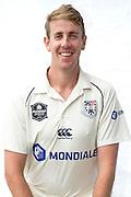 Matthew Quinn headshot for Auckland Aces Plunket Shield. Copyright Photo: Raghavan Venugopal / www.photosport.nz