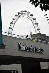 National Theatre & London Eye, London UK