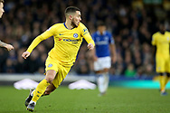 Chelsea midfielder Eden Hazard (10) during the Premier League match between Everton and Chelsea at Goodison Park, Liverpool, England on 17 March 2019.
