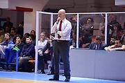 BRINDISI !(NOVEMBRE  2014<br /> BASKET EUROCUP Enel Brindisi Grissin Bon Reggio Emilia<br /> NELLA FOTO Massimiliano Menetti<br /> FOTO CIAMILLO
