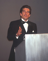 Oct 15, 1998; New York, NY, USA; JOHN F. KENNEDY JR @ the Grand Central Gala. John F. Kennedy Jr was born in Washington DC November 25, 1960 and died in a plane crash near Martha's Vineyard along with wife Carolyn Bessette on July 16,1999. Son to Pres. John F Kennedy and Jacqueline Kennedy Onassis, younger brother to Caroline Kennedy.  (Credit Image: © Nancy Kaszerman/ZUMAPRESS.com)