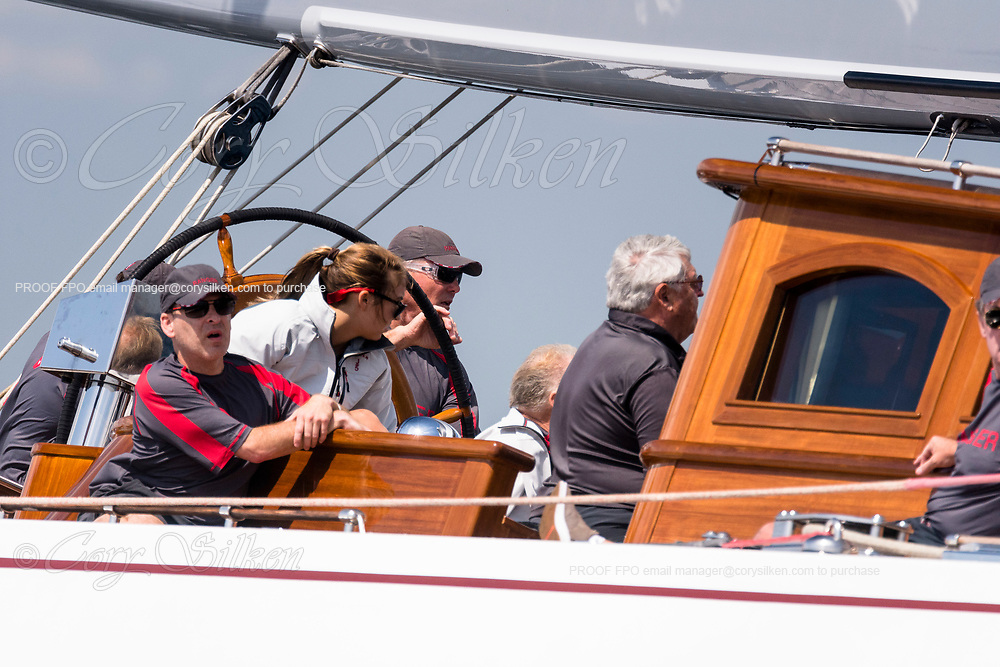 Ranger sailing in the J Class World Championship.