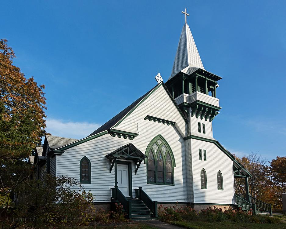 St. Ignatius of Loyola Catholic Church, Northeast Harbor, Maine.
