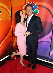 NBC 2019 Upfront held at The Four Seasons Hotel on May 13, 2019 in New York City, NY © Steven Bergman/AFF-USA.COM. 13 May 2019 Pictured: Fran Drescher and Steven Weber. Photo credit: Steven Bergman/AFF-USA.COM / MEGA TheMegaAgency.com +1 888 505 6342