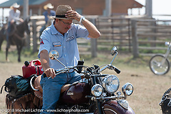 ]]]]]]]Kiwi Mike in the Cycle Source motorcycle rodeo games at the Spur Creek Ranch during the 78th annual Sturgis Motorcycle Rally. Sturgis, SD. USA. Wednesday August 8, 2018. Photography ©2018 Michael Lichter.