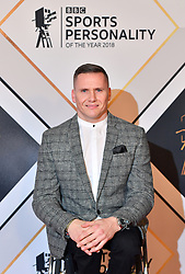 David Weir during the red carpet arrivals for the BBC Sports Personality of the Year 2018 at The Vox at Resorts World Birmingham.