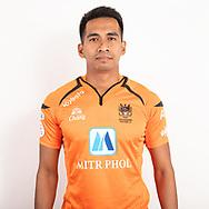 THAILAND - JUNE 24: Sila Srikampang #2 of Ratchaburi Mitr Phol FC on June 24, 2019.<br /> .<br /> .<br /> .<br /> (Photo by: Naratip Golf Srisupab/SEALs Sports Images/MB Media Solutions)