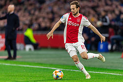 13-03-2019 NED: Ajax - PEC Zwolle, Amsterdam<br /> Ajax has booked an oppressive victory over PEC Zwolle without entertaining the public 2-1 / Daley Blind #17 of Ajax