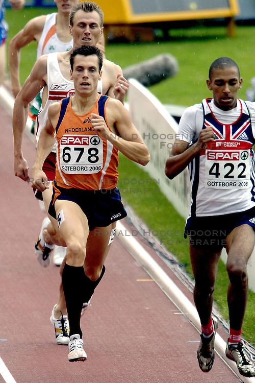 10-08-2006 ATLETIEK: EUROPEES KAMPIOENSSCHAP: GOTHENBORG <br /> Bram Som (678) plaatst zich voor de halve finale 800 meter. <br /> ©2006-WWW.FOTOHOOGENDOORN.NL