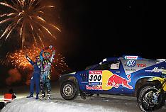 2009 Dakar on Snow, December Flachau